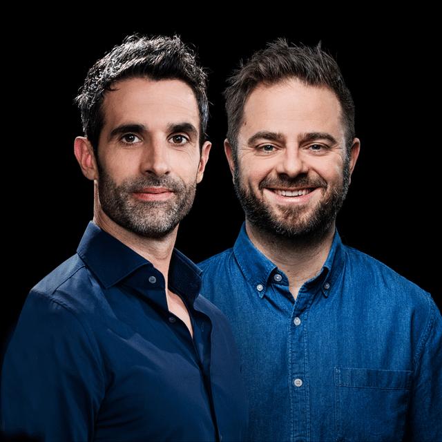 Philippe Gerber und Marco Thomann