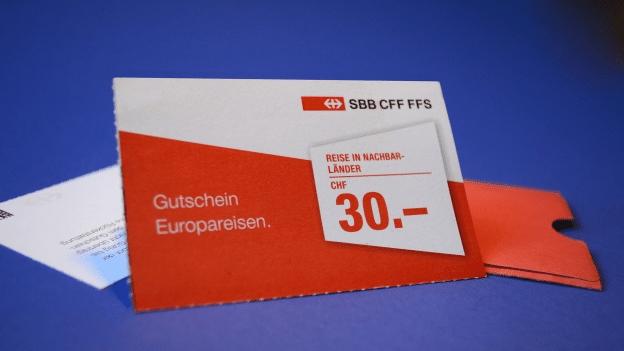 Frustrierte Treuekunden - Schrumpfende SBB-Gutscheine: Es