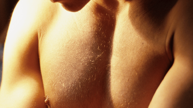 Brustwarze männliche Schmerzende Brüste