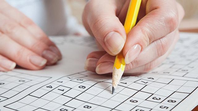 Ohrwurm ade - versuchen Sie es mit einem Sudoku-Rätsel