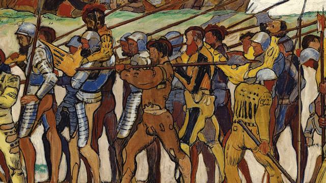 Aus dem Archiv: die Schlacht von Marignano