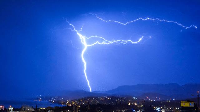 Blitze zählen