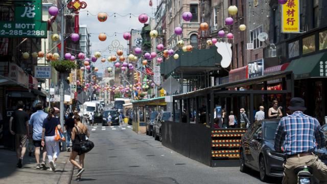 Stimmen aus New Yorks Chinatown