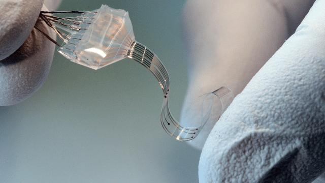 Flexible Neuro-Prothese fürs Rückenmark