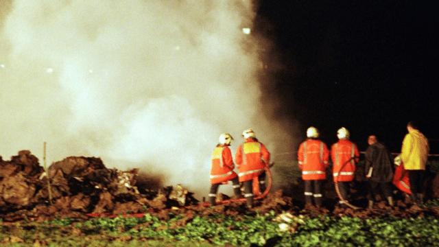 Der Flugzeugabsturz in Bassersdorf