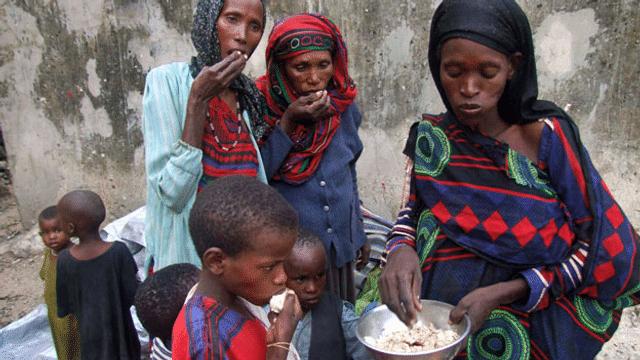 Aus dem Archiv: Nothilfe ist nicht die Lösung gegen Welthunger