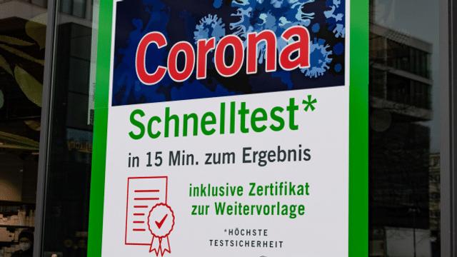 Aus dem Archiv: Bald keine kostenlosen Tests in Deutschland