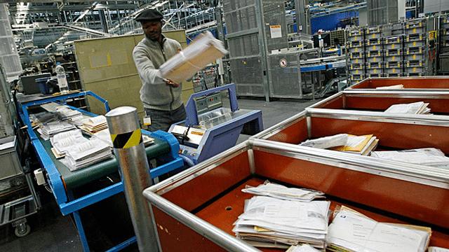 Aus dem Archiv: Bund will mehr Konkurrenz bei der Briefpost