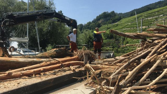 Bielersee: die grossen Bergungsarbeiten