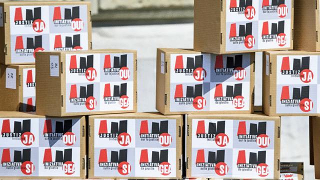 «Justizinitiative»: Auftakt zum Abstimmungskampf