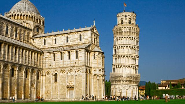 Warum ist der Turm von Pisa schief?