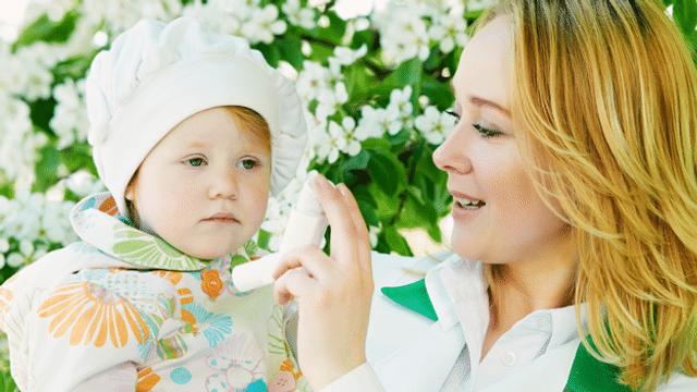 Auch Babys sind vor Allergien nicht gefeit