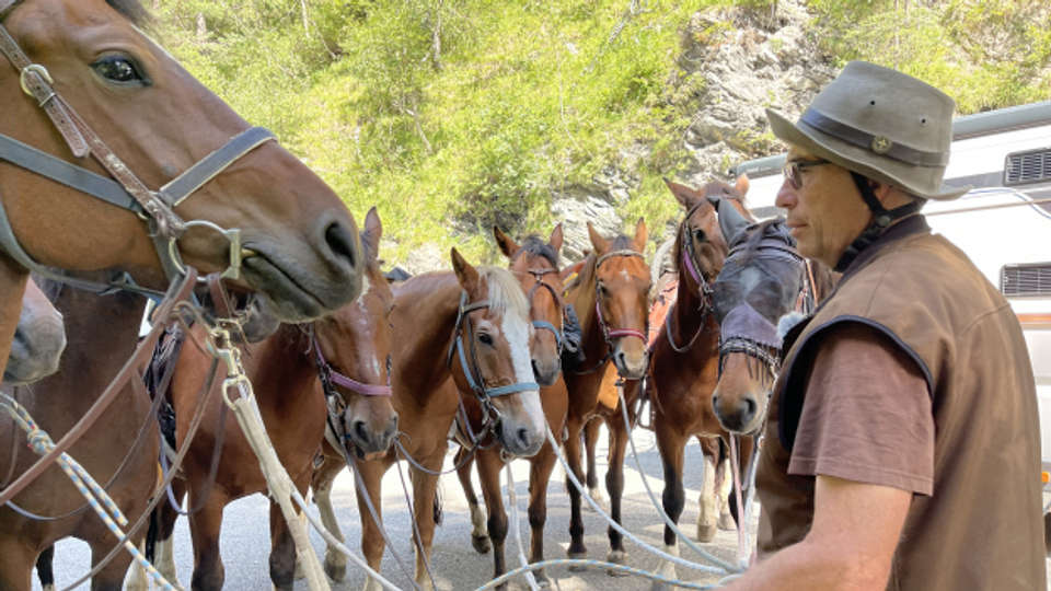 A chaval sur las Alps – sin ils fastizs dal Currier da Lindau