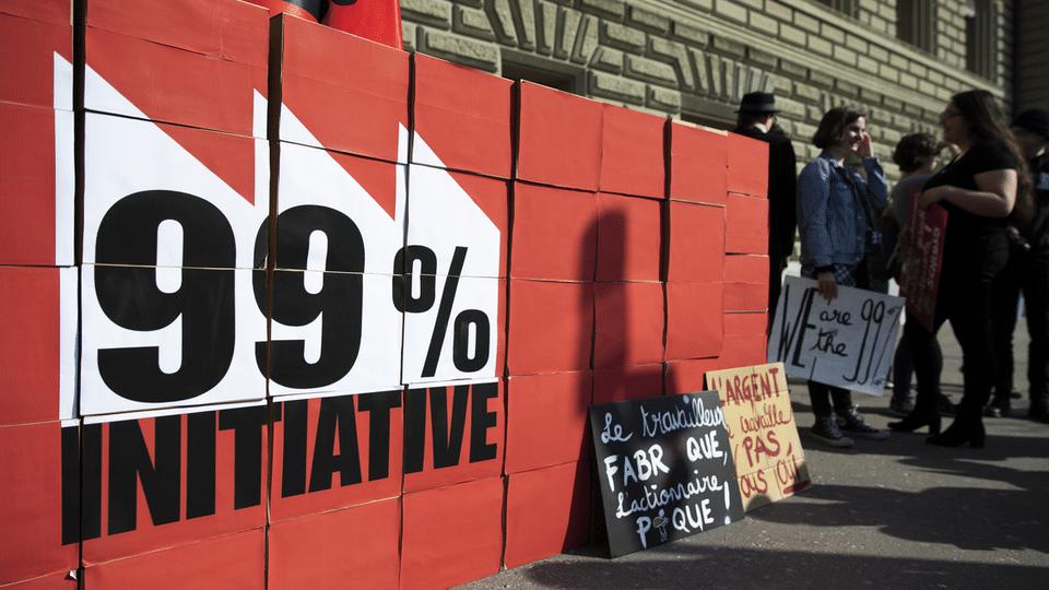 99-Prozent-Initiative - umstrittene Forderung einer Reichensteuer