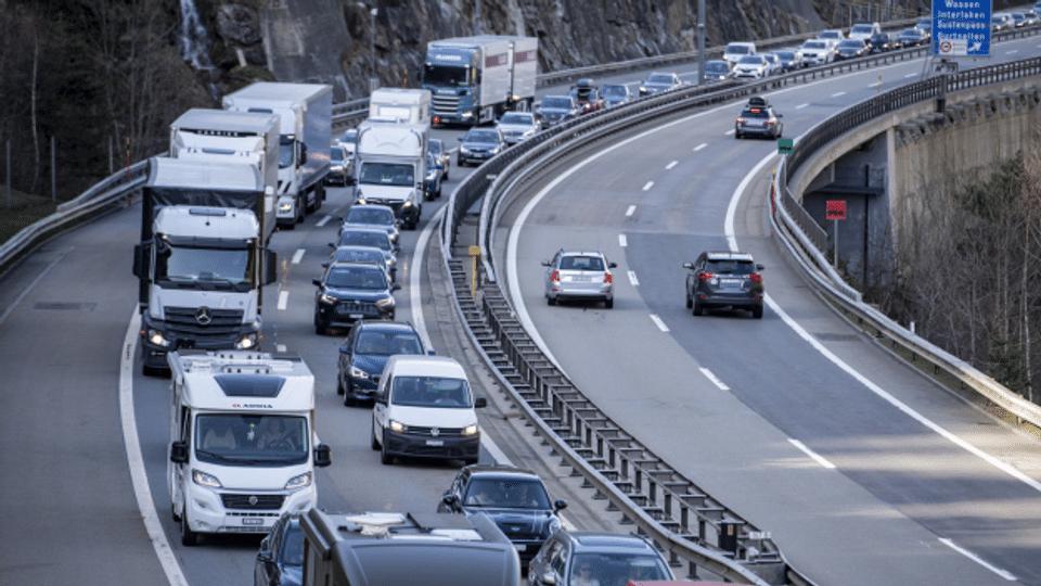 Gotthard-Stau: Auf der Nordseite geht's schneller