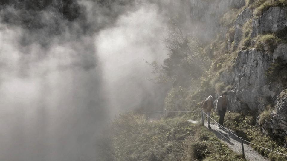 Gefährliche Wanderung abgebrochen
