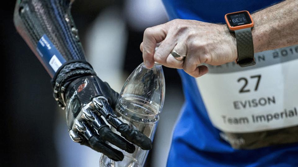 Ein Wettkampf für Menschen mit Behinderung und die neuste Technik