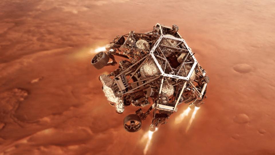 Mars-Mission fahndet nach den Anfängen des Lebens