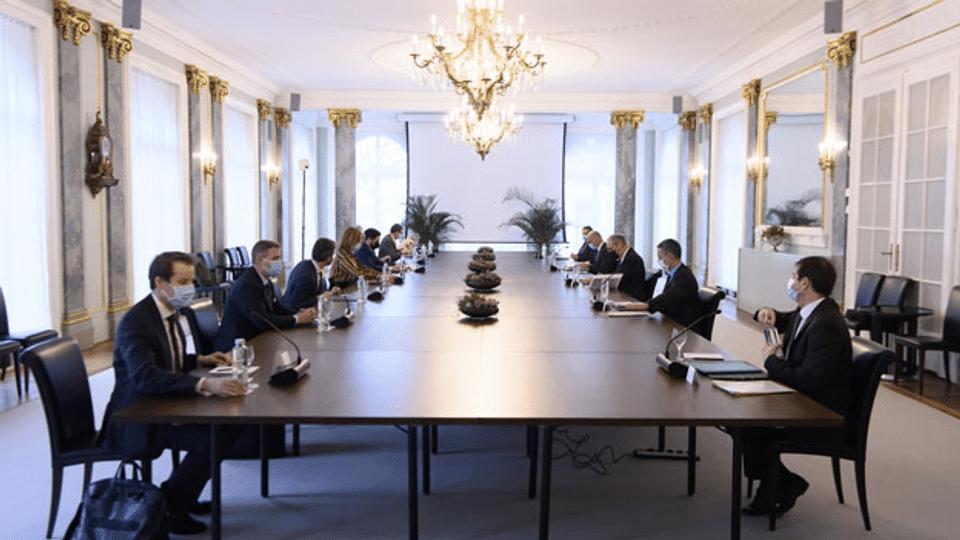 Von-Wattenwyl-Gespräche: Grüne und GLP weiter vor der Tür