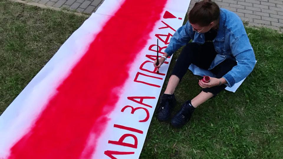 Marija – die belarussische Oppositionelle