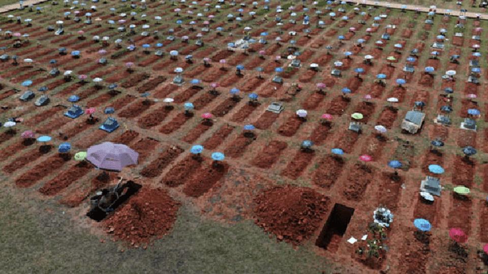 Südamerika ist ein Epizentrum der Pandemie