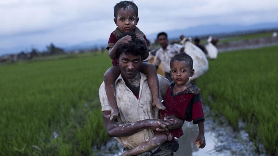 Beweise sammeln von Menschenrechtsverbrechen in Myanmar