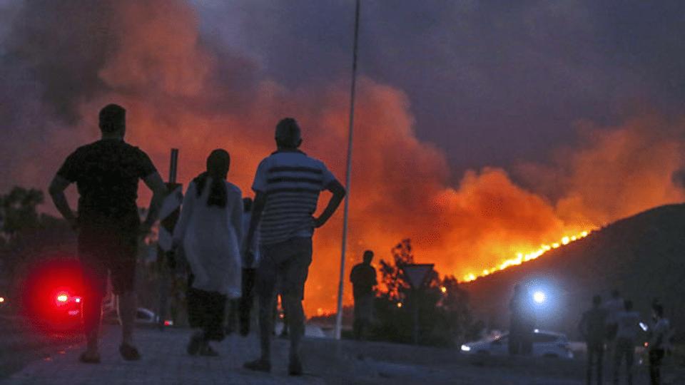 «Die Zerstörung durch die Brände ist riesig und katastrophal»