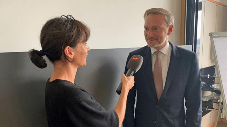 Deutsche FDP als Königsmacherin: Christian Lindner im Gespräch