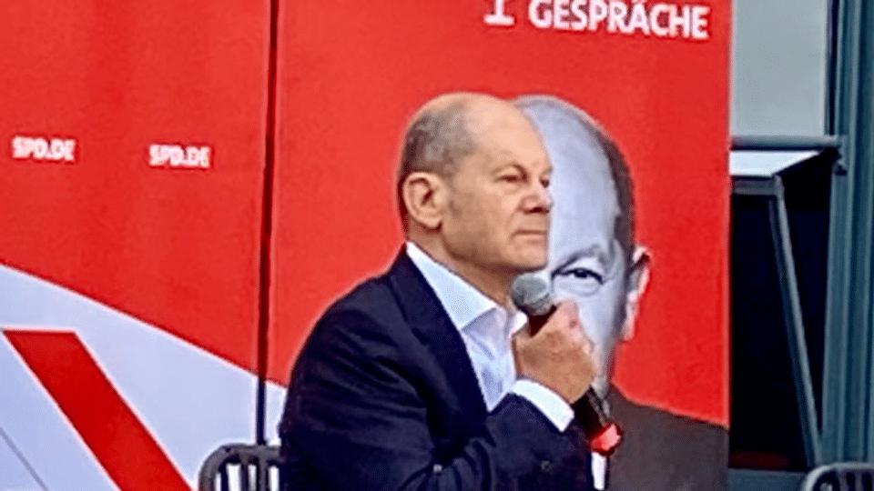 Kanzlerwahl in Deutschland: «Scholz ist im Thema»