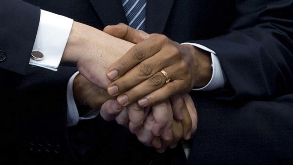 Kleine Kulturgeschichte des Handschlags