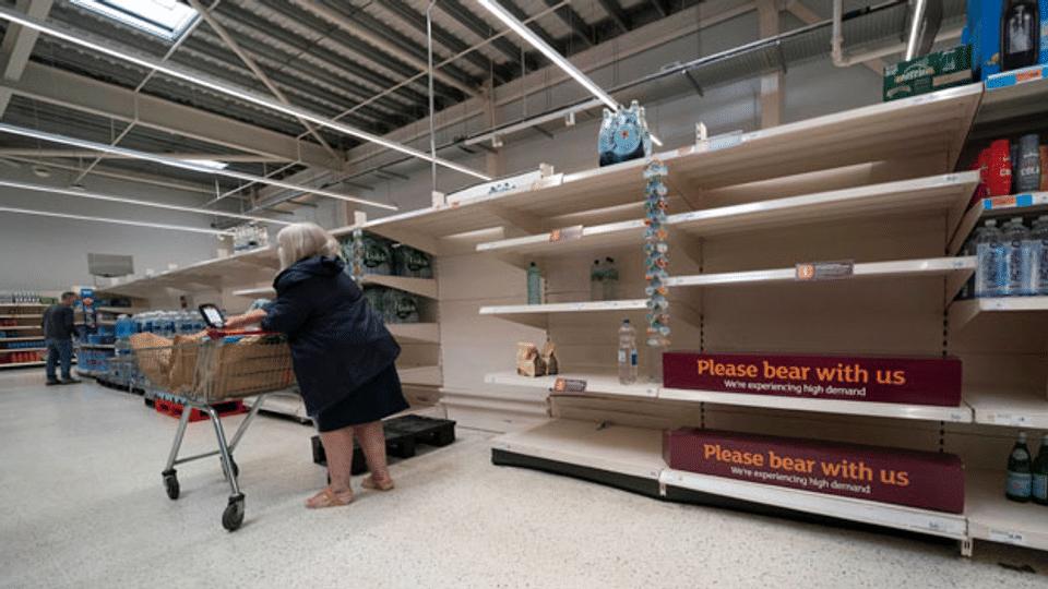 Grossbritanniens Sorgen um die Lebensmittelversorgung