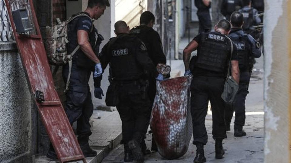 Brasiliens Polizei: «Entweder wir töten sie oder sie töten uns.»