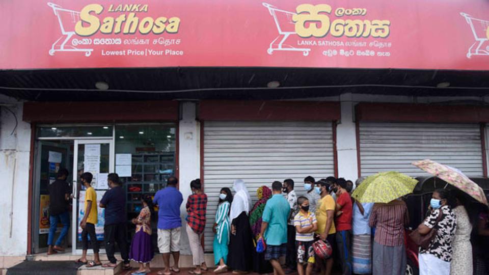 Nahrungsmittelknappheit in Sri Lanka