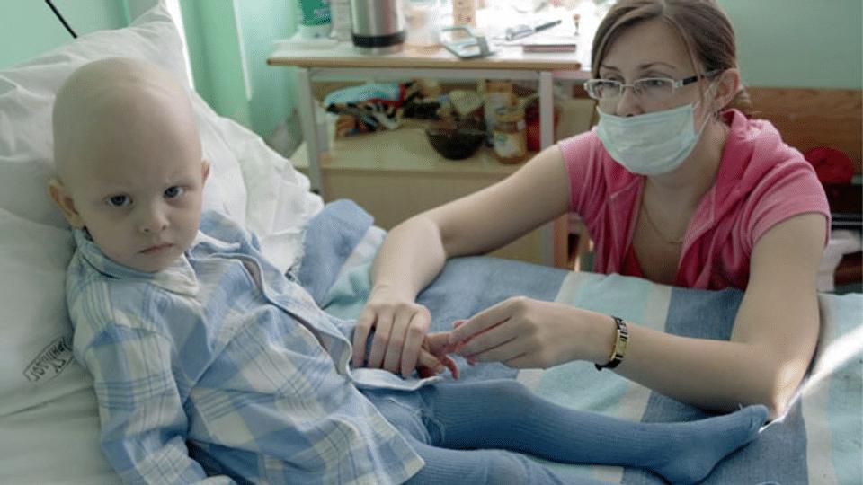 Zwenig Geld für die Krebsforschung bei Kindern