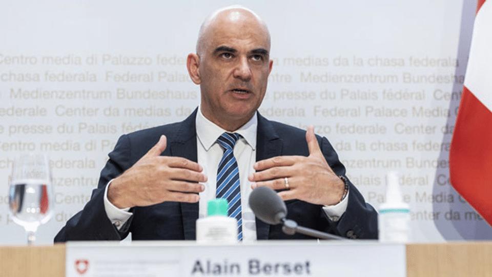 Alain Berset ruft erneut zum Impfen auf