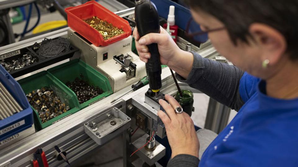 Schweizer Industrie wieder auf Vormarsch