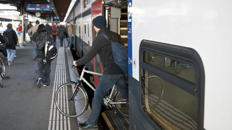 Reservationspflicht für Velos in Zügen soll fallen
