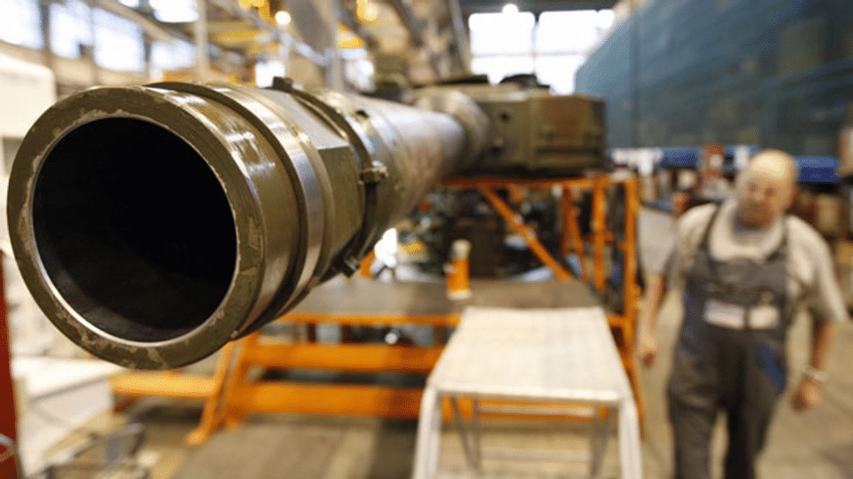 Nationalrat diskutiert über Waffenexporte