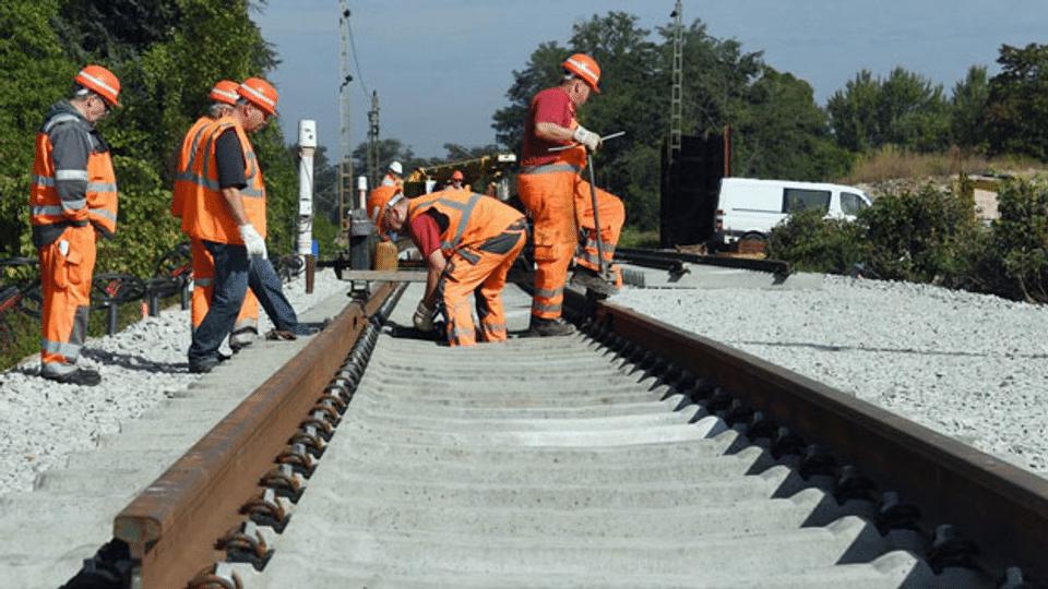 Baustellen an der Rheintalbahn sorgen für Unmut