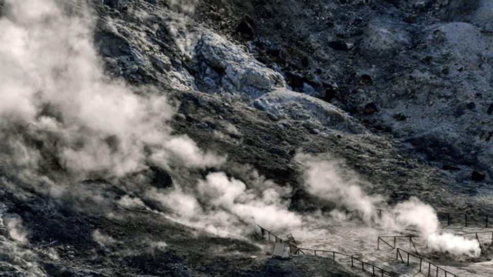 Supervulkan bei Neapel als eine ständige Bedrohung