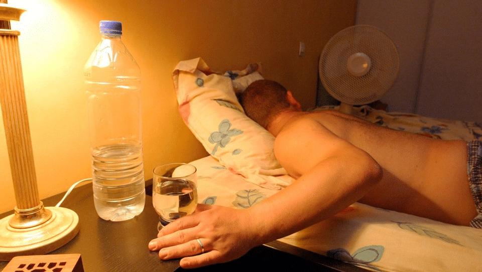 Schlaflos wegen Sommerhitze